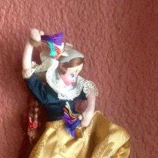 Muñeca española clasica: MUÑECA FOLKLORICA DE ROLDÁN DE 18 CM DE ALTURA EN MUY BUEN ESTADO.. Lote 132205418