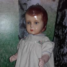 Muñeca española clasica: ANTIGUA MUÑECA PEPONA DE 53 CM (AÑO 1940). Lote 132255018