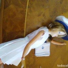 Muñeca española clasica: REPRODUCCIÓN TRAJE DE MARINERA ORIGINAL DE TRESSY. Lote 133176709
