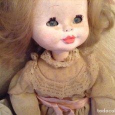 Muñeca española clasica: MUÑECA CARTÓN PIEDRA.AÑOS 50¿. Lote 133425591