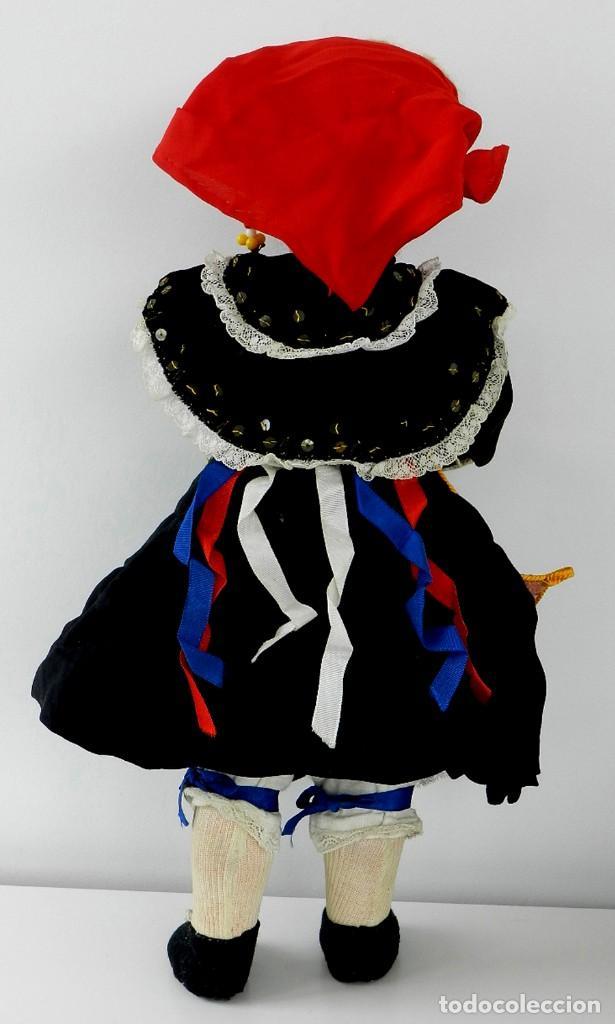 Muñeca española clasica: MUÑECA DE ISIDRO RICO, DE FINALES DE LOS 40, REALIZADA EN CARTÓN PIEDRA, CABELLO DE MOHAIR, OJO FIJO - Foto 8 - 133470426