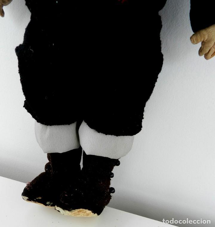 Muñeca española clasica: MUÑECO ESPAÑOL CON TRAJE REGIONAL AÑOS 20, CASA PAGÉS. MIDE 30 CM, TAL Y COMO SE VE EN LAS FOTOS - Foto 3 - 133472298