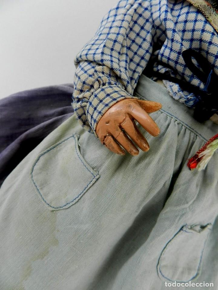 Muñeca española clasica: INTERESANTE MUÑECA ESPAÑOLA REGIONAL DE LA CASA FLORIDO, VER FOTOS, TIENE PEQUEÑOS DETERIOROS EN L - Foto 9 - 133472954