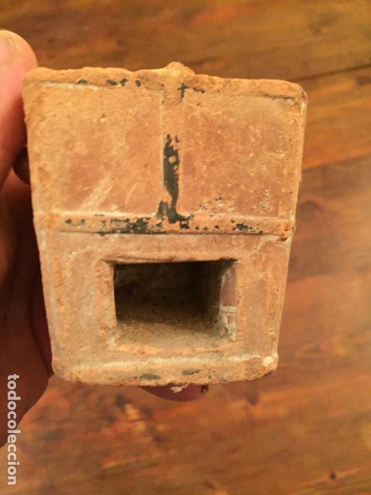 Muñeca española clasica: Antiguo pequeño fogón / cocina de ceramica de juguete de los años 20-30 - Foto 2 - 133535286