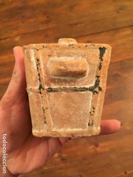 Muñeca española clasica: Antiguo pequeño fogón / cocina de ceramica de juguete de los años 20-30 - Foto 3 - 133535286