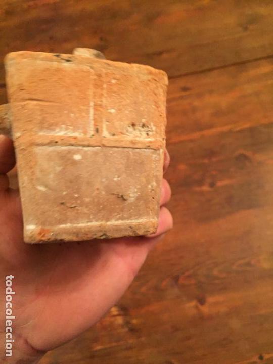 Muñeca española clasica: Antiguo pequeño fogón / cocina de ceramica de juguete de los años 20-30 - Foto 4 - 133535286