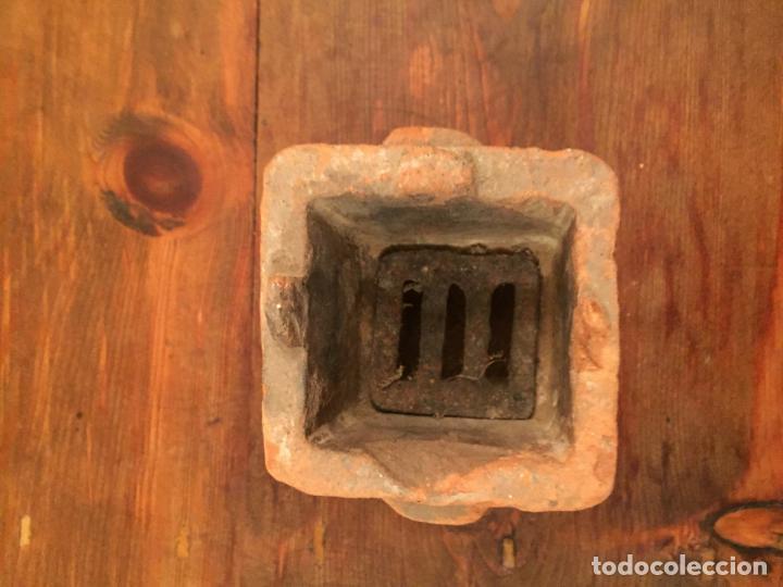 Muñeca española clasica: Antiguo pequeño fogón / cocina de ceramica de juguete de los años 20-30 - Foto 8 - 133535286
