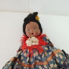 Muñeca española clasica: MUÑECA DE TERRACOTA.AÑOS 40. Lote 134291099