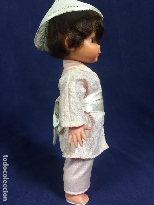 Muñeca española clasica: MUÑECA ESPAÑOLA MUÑECO EDA CHINO JAPON JAPONES AÑOS 50 EN CAJA 33,5X14X10CMS - Foto 9 - 134370306
