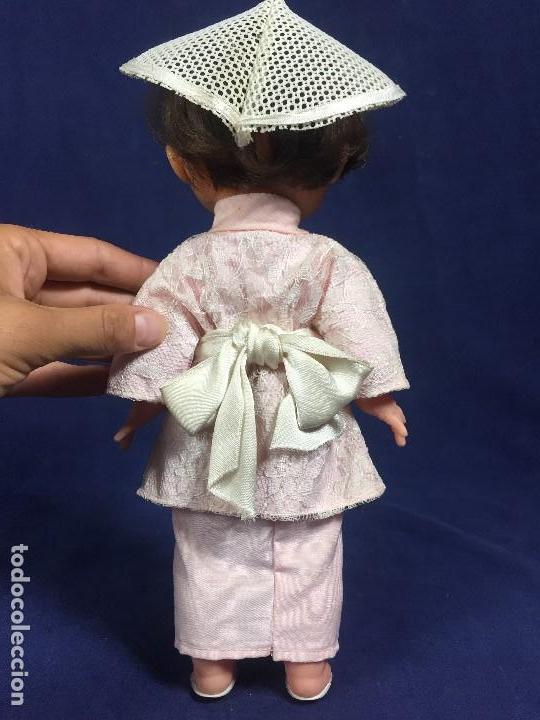 Muñeca española clasica: MUÑECA ESPAÑOLA MUÑECO EDA CHINO JAPON JAPONES AÑOS 50 EN CAJA 33,5X14X10CMS - Foto 14 - 134370306