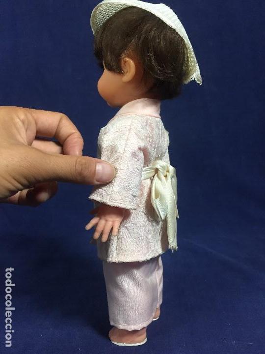Muñeca española clasica: MUÑECA ESPAÑOLA MUÑECO EDA CHINO JAPON JAPONES AÑOS 50 EN CAJA 33,5X14X10CMS - Foto 15 - 134370306