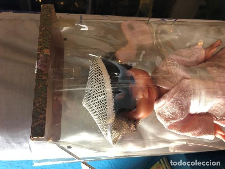 Muñeca española clasica: MUÑECA ESPAÑOLA MUÑECO EDA CHINO JAPON JAPONES AÑOS 50 EN CAJA 33,5X14X10CMS - Foto 19 - 134370306