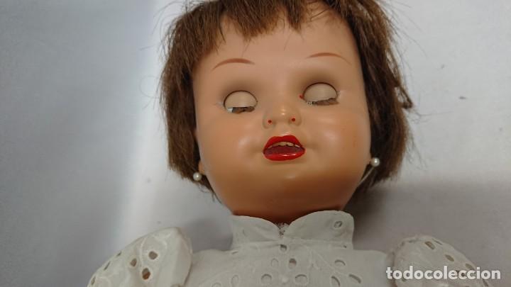 Muñeca española clasica: ANTIGUA MUÑECA CARTÓN PIEDRA MARICELA DE SANTIAGO MOLINA - Foto 10 - 134785098