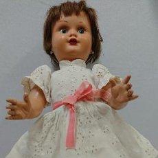 Muñeca española clasica: ANTIGUA MUÑECA CARTÓN PIEDRA MARICELA DE SANTIAGO MOLINA . Lote 134785098