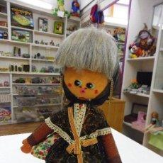 Muñeca española clasica: MUÑECA TRAJE REGIONAL ALAMBRE Y FIELTRO. Lote 135135166