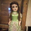 Muñeca española clasica: ANTIGUA MUÑECA CARTÓN PIEDRA, FLORIDO,AÑOS 40.LEER DESCRIPCIÓN POR FAVOR.. Lote 135162578