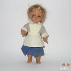 Muñeca española clasica: ANTIGUA MUÑECA LINDA PIRULA CON ATUENDO DE ? ... DE MUÑECAS DE ALBA - AÑO 1950-60S.. Lote 135516874