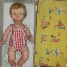 Muñeca española clasica: MUÑECO GODÍN DE FAMOSA SIN ESTRENAR EN SU CAJA ORIGINAL. Lote 136166490