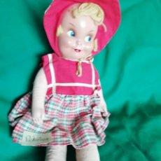Muñeca española clasica: ANTIGUA WERLI, LEMANOS?? CAPERUCITA 42CM. Lote 136242850