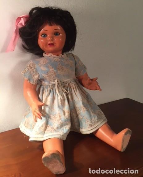 Muñeca española clasica: Muñeca caminadora LAURA Laurita DE SERAFIN VICENT CALVO AÑOS 40. Mide 45 cm. - Foto 3 - 136509326