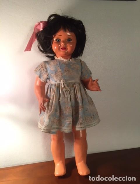 Muñeca española clasica: Muñeca caminadora LAURA Laurita DE SERAFIN VICENT CALVO AÑOS 40. Mide 45 cm. - Foto 5 - 136509326