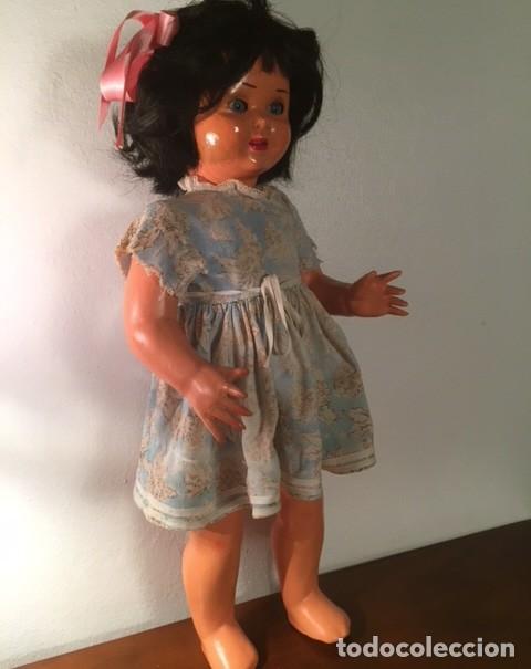 Muñeca española clasica: Muñeca caminadora LAURA Laurita DE SERAFIN VICENT CALVO AÑOS 40. Mide 45 cm. - Foto 6 - 136509326