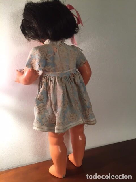 Muñeca española clasica: Muñeca caminadora LAURA Laurita DE SERAFIN VICENT CALVO AÑOS 40. Mide 45 cm. - Foto 9 - 136509326
