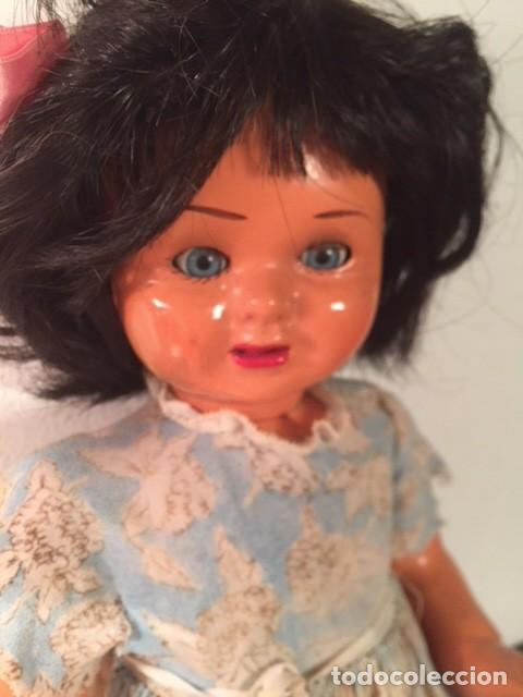 Muñeca española clasica: Muñeca caminadora LAURA Laurita DE SERAFIN VICENT CALVO AÑOS 40. Mide 45 cm. - Foto 10 - 136509326