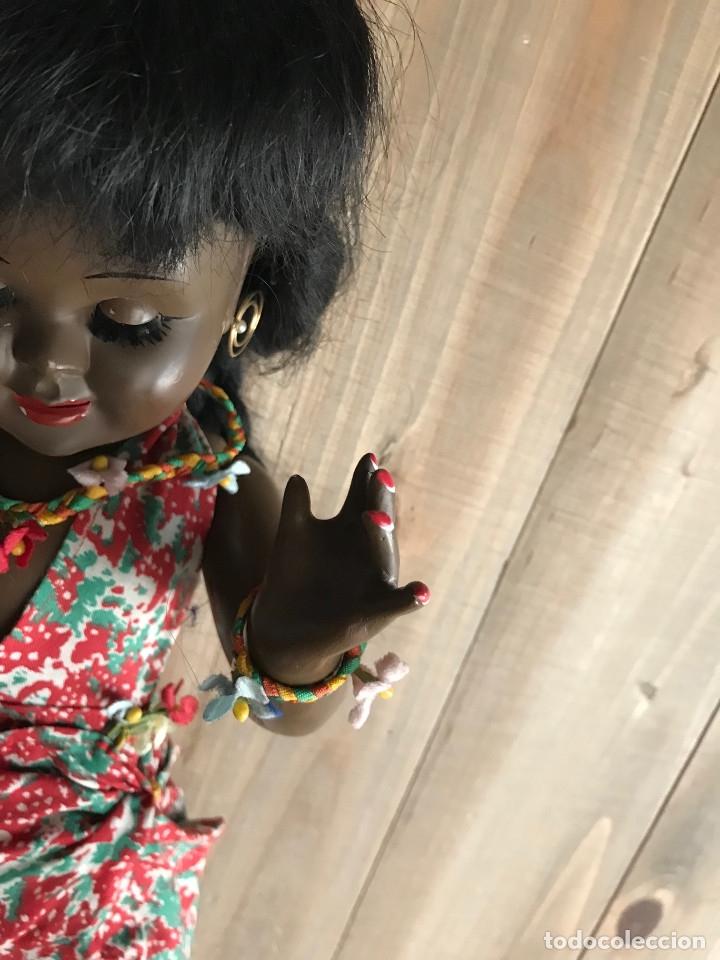 Muñeca española clasica: Muñeca negra Teresín años 50 - Industrias Durá - Original - Foto 10 - 35617961