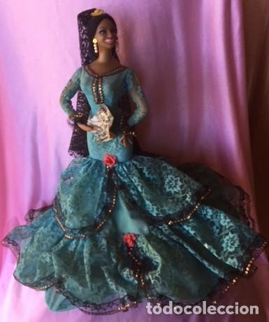 Muñeca española clasica: Espectacular antigua muñeca Marin , levanta los brazos para poder bailar, Chiclana años 40 - Foto 4 - 160329904