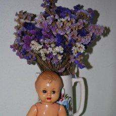 Muñeca española clasica: MUÑECO PEPÍN DE CARTÓN PIEDRA - CABEZA DE CELULOIDE - OJOS DURMIENTES - ORIGINAL AÑOS 40. Lote 137881302