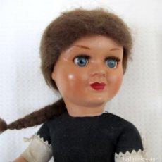 Muñeca española clasica: MUÑECA TERESÍN, MARCADA, MODELO PEQUEÑO 35CM CELULOIDE - DOLL, POUPÉE. Lote 138289754