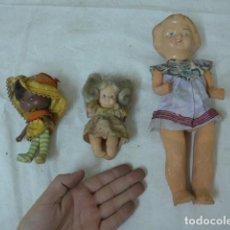 Muñeca española clasica: LOTE 3 ANTIGUA MUÑECA, VARIEDAD. UNA PEPONA, OTRA AMERICANA. Lote 138695246