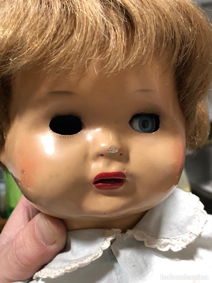 Muñeca española clasica: Antigua muñeca años 40, le falta un ojo - Foto 2 - 139366050