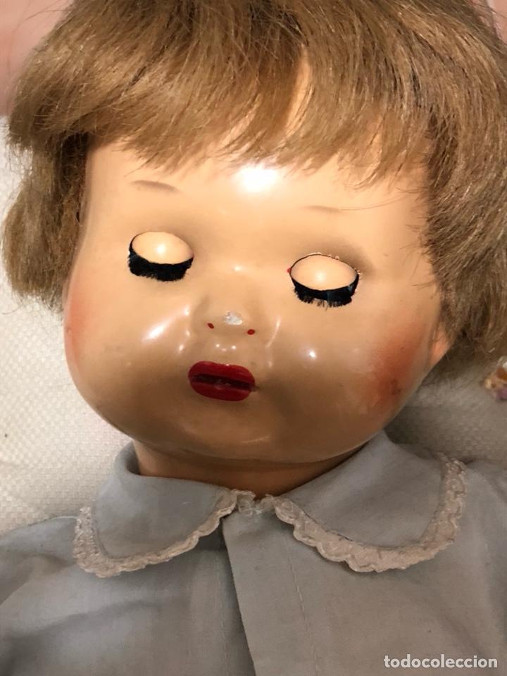 Muñeca española clasica: Antigua muñeca años 40, le falta un ojo - Foto 3 - 139366050