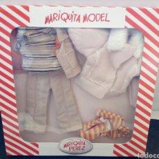 Muñeca española clasica: MARIQUITA MODEL. MARIQUITA PÉREZ. VESTIDO EN CAJA. Lote 139715828