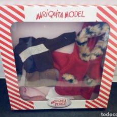 Muñeca española clasica: MARIQUITA MODEL. MARIQUITA PÉREZ. VESTIDO EN CAJA. Lote 139715922
