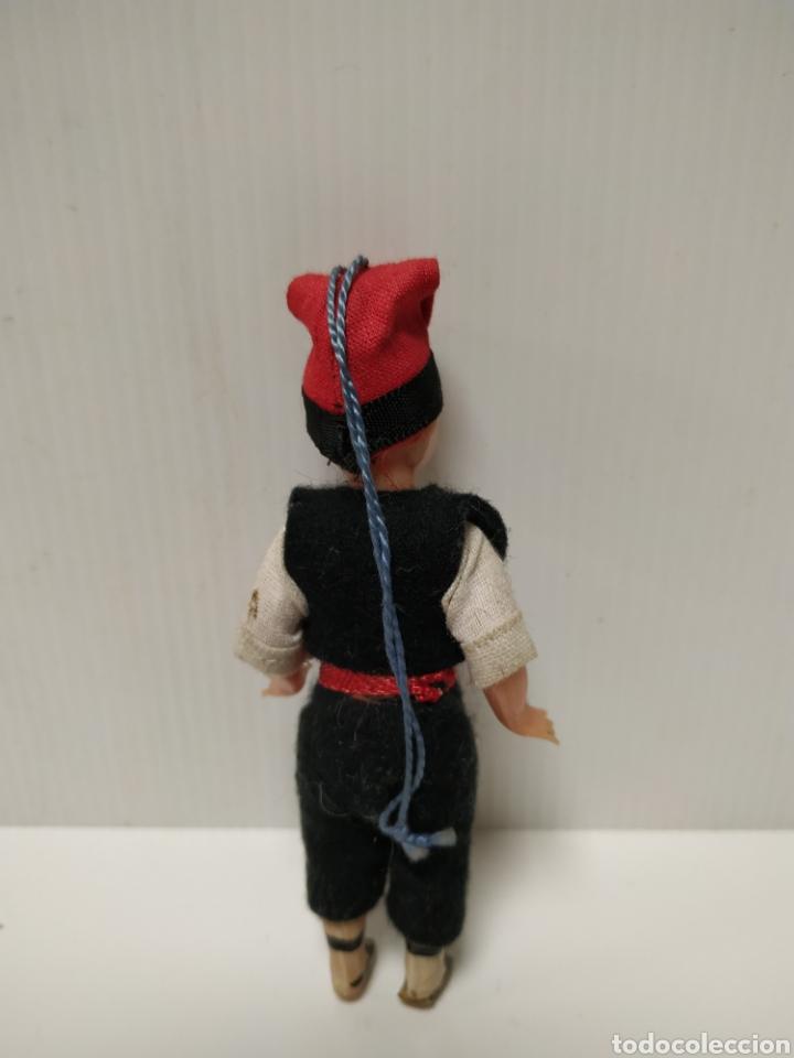 Muñeca española clasica: Antiguo muñeco plástico duro - Foto 2 - 140008372