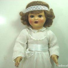 Klassische spanische Puppen - PRECIOSA MUÑECA MARICELA -SANTIAGO MOLINA AÑOS 40 50 -ANDADORA MUY BUEN ESTADO - 140175426