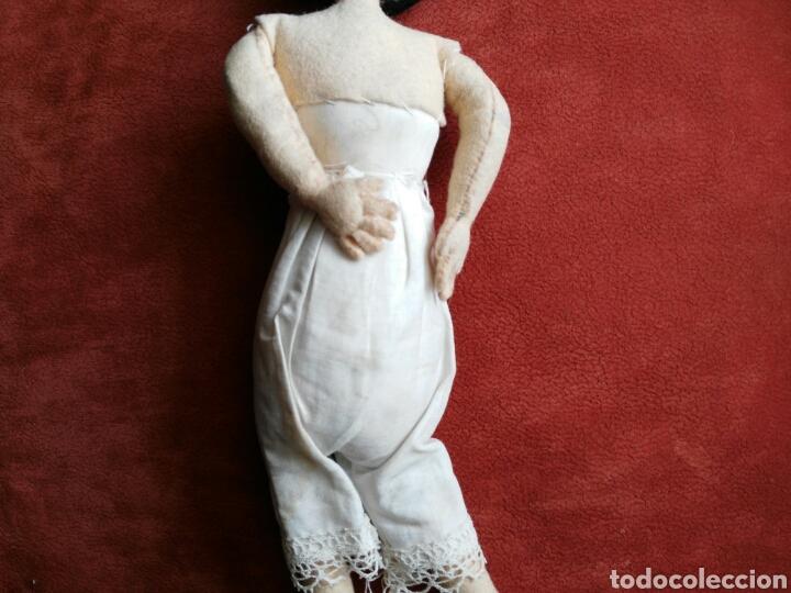 Muñeca española clasica: ANTIGUA MUÑECA DE TRAPO. ENVIO INCLUIDO EN EL PRECIO. - Foto 2 - 140459590
