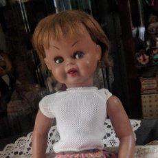 Muñeca española clasica: MUÑECA GUENDOLINA. MEDIADOS AÑOS 50 . VER DETALLES EN DESCRIPCIÓN. VELL I BELL. Lote 138950214