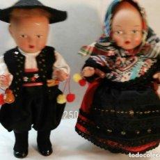 Muñeca española clasica: PAREJA DE MUÑECOS EN TERRACOTA. Lote 109501331