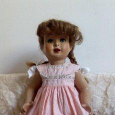 Muñeca española clasica: MARAVILLOSA PICHUCA DE PEDRO GROSS AÑOS 40/50 BUSCA HOGAR. Lote 141625122