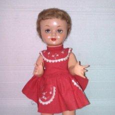 Muñeca española clasica: MUÑECA ANTIGUA AÑOS 40. Lote 142522770