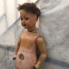 Muñeca española clasica: MUÑECA CARTÓN PIEDRA 90CM. Lote 142930101