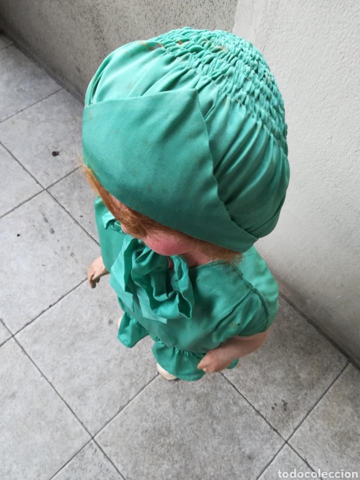 Muñeca española clasica: Antigua Muñeca marca Florido andadora 80 cms de altura ojos fijos de cristal - Madrid - Original - Foto 4 - 143282918