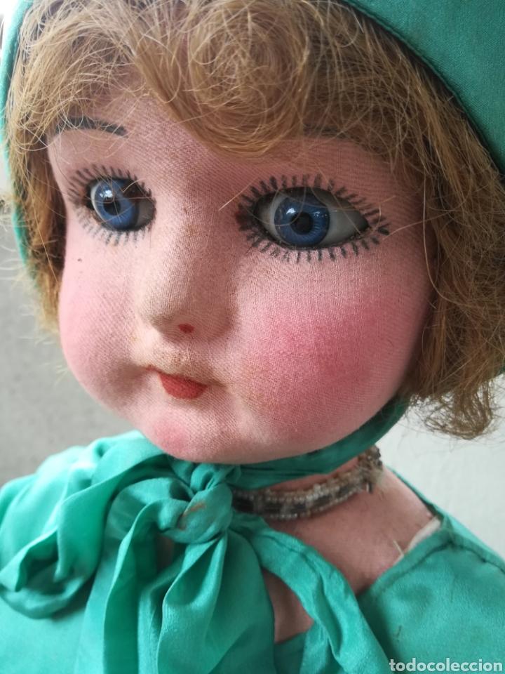 Muñeca española clasica: Antigua Muñeca marca Florido andadora 80 cms de altura ojos fijos de cristal - Madrid - Original - Foto 5 - 143282918