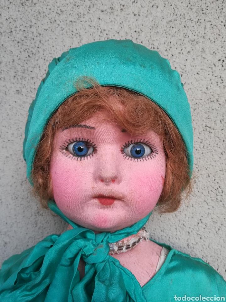 Muñeca española clasica: Antigua Muñeca marca Florido andadora 80 cms de altura ojos fijos de cristal - Madrid - Original - Foto 9 - 143282918