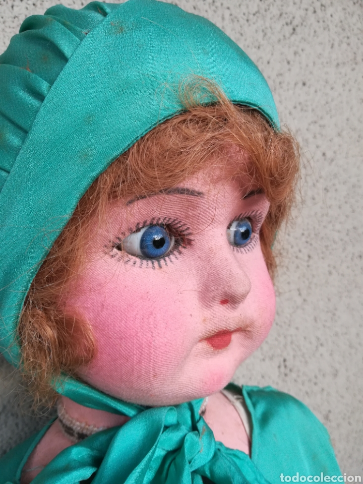 Muñeca española clasica: Antigua Muñeca marca Florido andadora 80 cms de altura ojos fijos de cristal - Madrid - Original - Foto 10 - 143282918