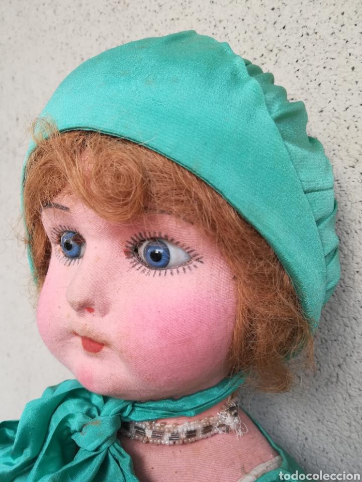 Muñeca española clasica: Antigua Muñeca marca Florido andadora 80 cms de altura ojos fijos de cristal - Madrid - Original - Foto 11 - 143282918